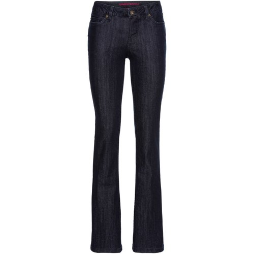 Damen Bootcut-Jeans, in Dark Denim Rinse Washed