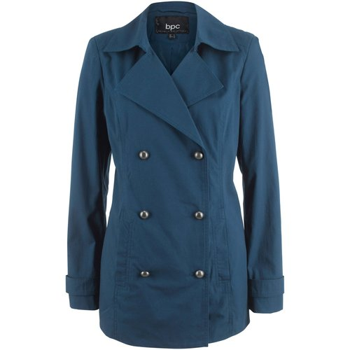 Damen Trenchcoat kurz, in Dunkelblau