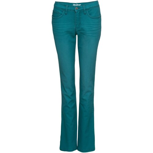 Damen Stretch-Jeans, farbig, STRAIGHT, 251606 in...