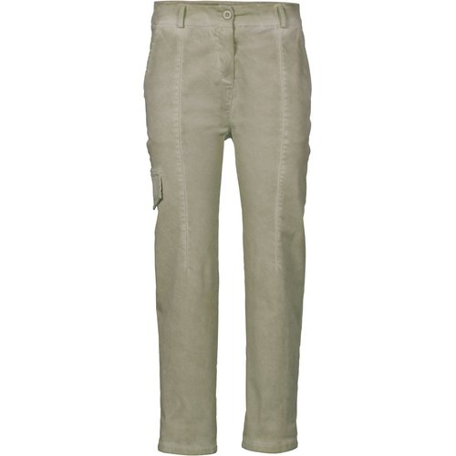 Damen Cargohose, in New khaki