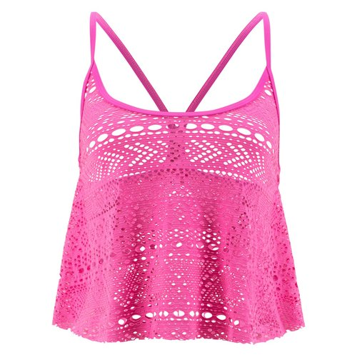 Damen Strandtop, in Pink