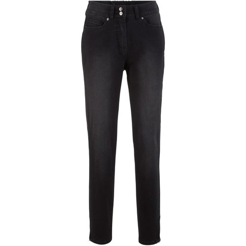 Damen Push-up-Stretchjeans, in Black Stone