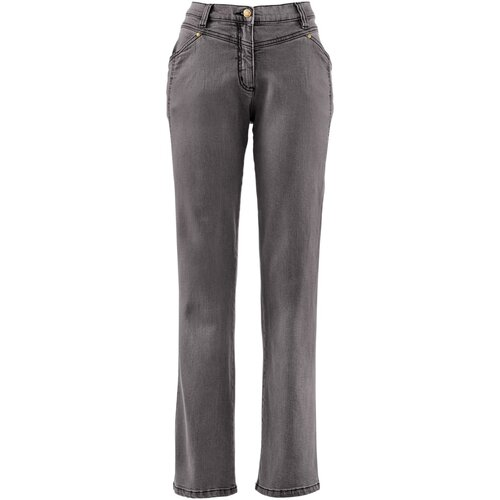 Damen Komfort Stretchhose, in Grey Denim