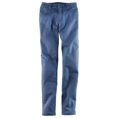 Damen Stretch-Jeans Skinny L-Größe, in Indigo Used
