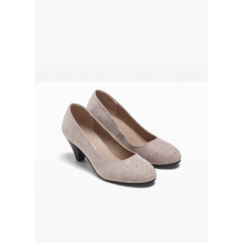 Damen Pumps, 306442 in Taupe