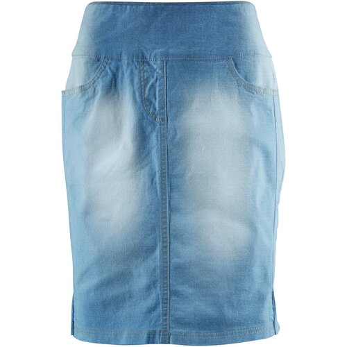 Damen Hoch geschnittener Stretch-Rock, 307359 in Blue...