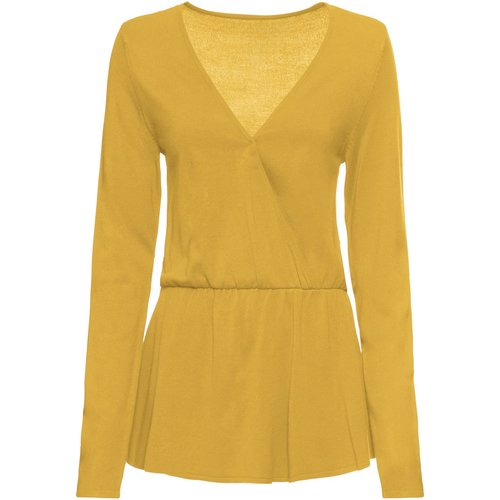 Damen Pullover, 309813 in Lemoncurry