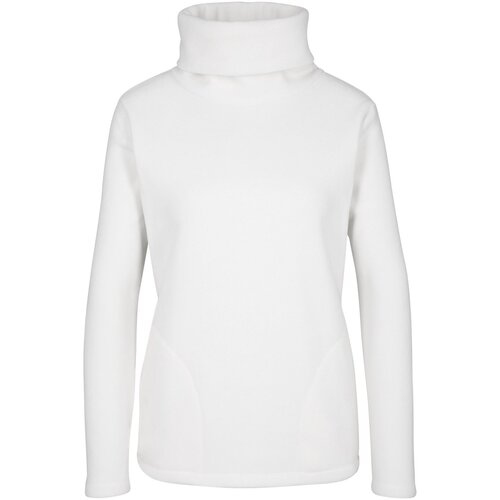 Damen Fleeceshirt, 310785 in Wollweiß