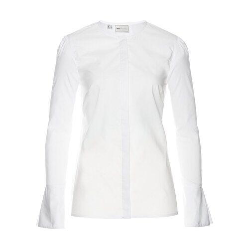 Damen Bluse, 314399 in Weiß