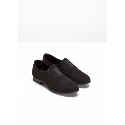Damen Slipper, 315229 in Schwarz