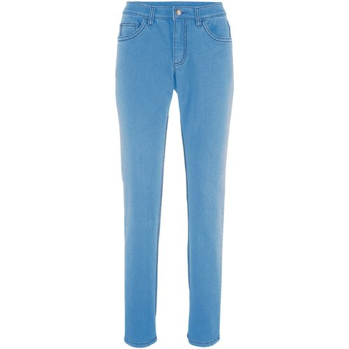 Damen Multi-Stretch-Jeans STRAIGHT, in Hellblau