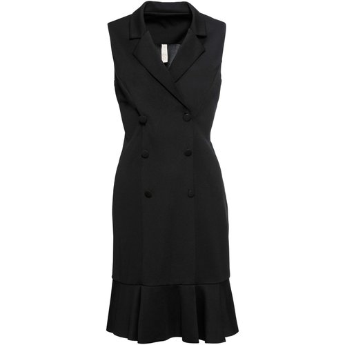 Damen Business-Kleid, in Schwarz