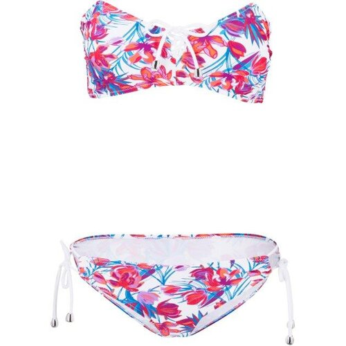 Damen Bandeau Bikini (2-tlg. Set), in Weiß