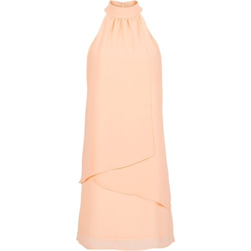 Damen Kleid, in Apricot