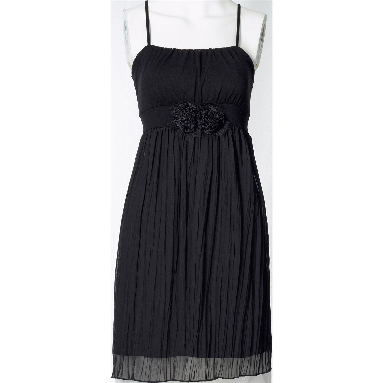 Damen Shirtkleid, in Schwarz