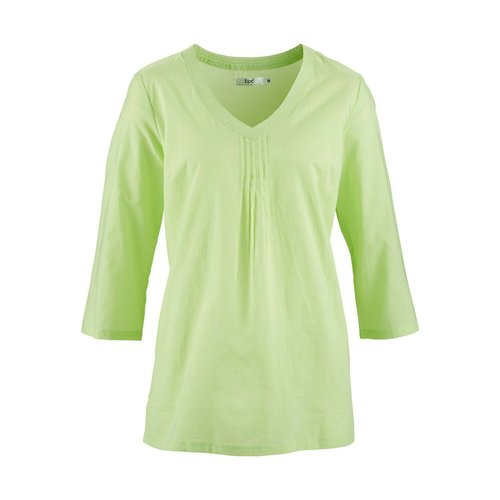 Damen Bluse, in Mattmint