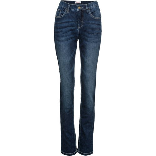 Damen Multi-Stretch-Jeans Classic, in Dunkelblau